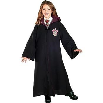 Harry Potter Gryffindor Child Fancy Robe Cloak Dress Costume 5-8 ...