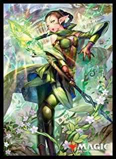 Magic: The Gathering Player's Card Sleeve War of The Spark Nissa, The Wobbling World (MTGS-086)