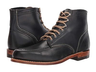 Wolverine Heritage 1000 Mile 1940 Boot (Black Leather) Men