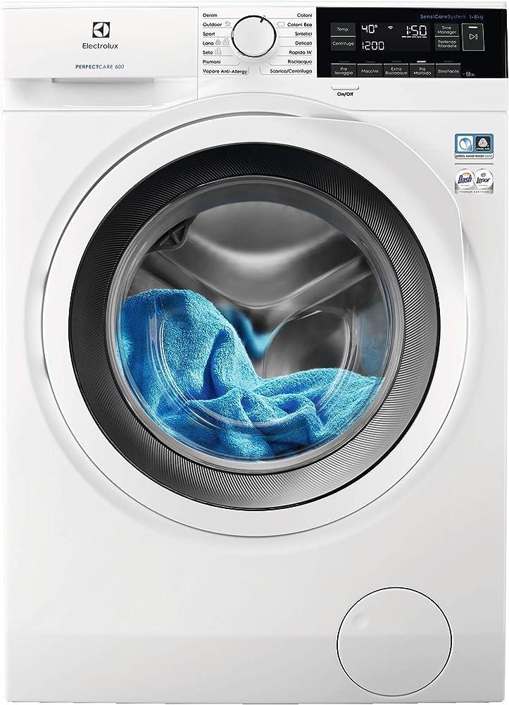 Electrolux  lavatrice carica frontale 8 kg, classe a+++ , centrifuga 1200 giri EW6F382W