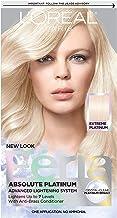 L'Oreal Paris Feria Multi-Faceted Shimmering Permanent Hair Color, Extreme Platinum,..