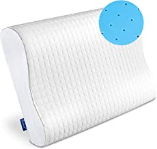 Qutool Contour Memory Foam Pillow,Cervical Bed Pillow for Sleeping,Neck Pain,Orthopedic Pillow for Back Side Stomach Sleep...