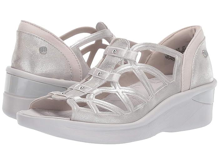 Bzees  Sasha (Silver Metallic) Womens Sandals