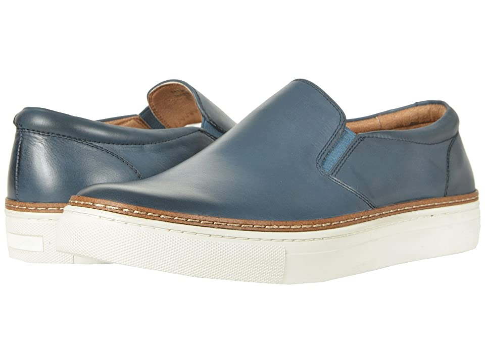 Florsheim Pivot Plain Toe Slip-On (Blue Smooth) Men
