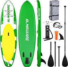 MaxKare Inflatable Paddle Board SUP Stand Up Paddle Board 6 inches Thick Board with SUP Accessories & Carry Bag & Fast Pum...