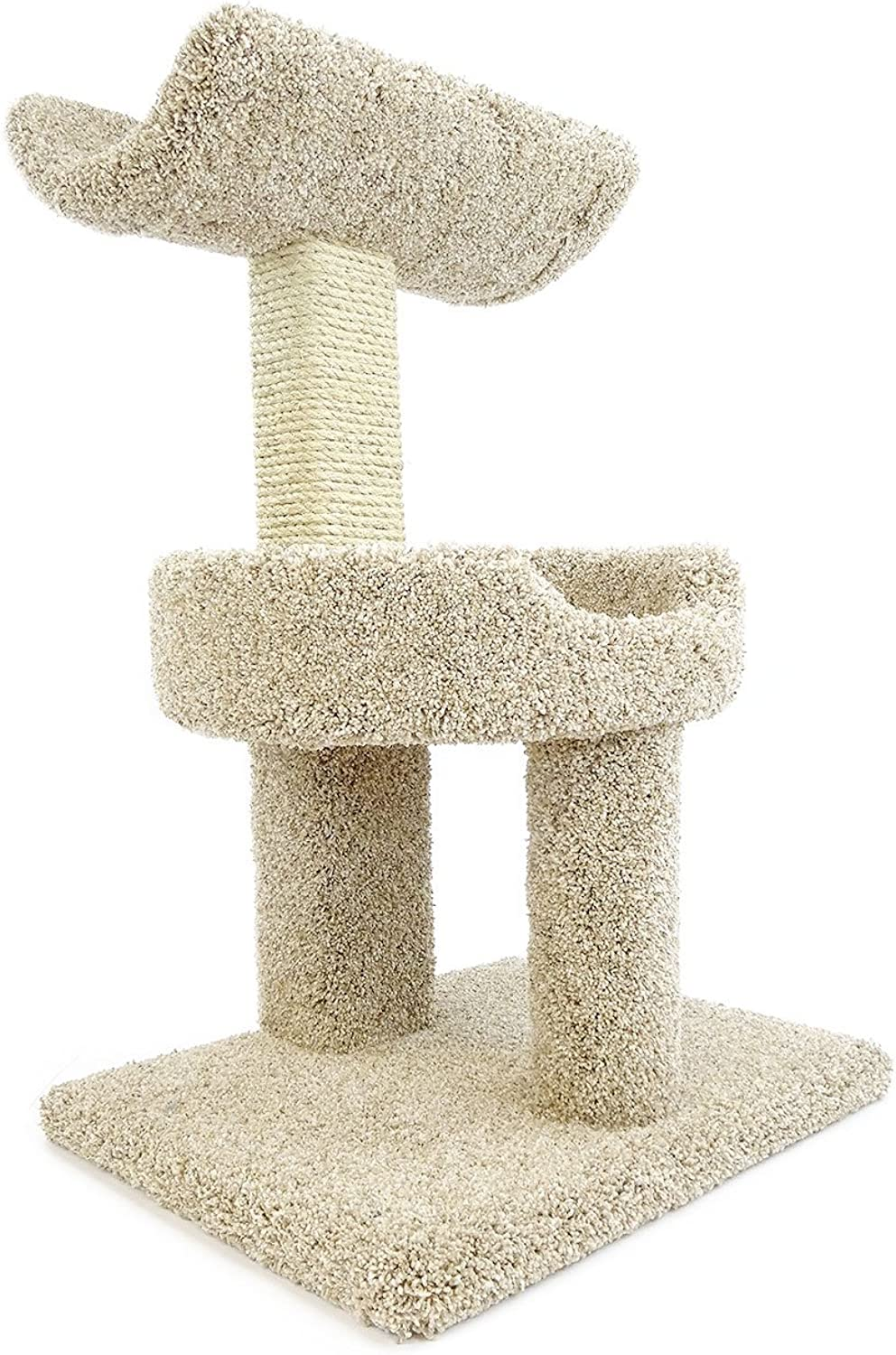 New Cat Condos Premier Window Perch, Beige