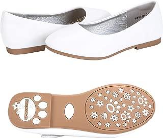 Girl's Toddler Katelyn Mary Jane Slip On Ballerina Flats Wedding Party School Dress Shoes