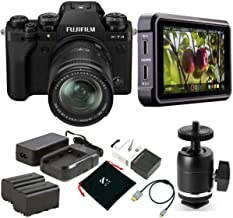 Fujifilm X-T4 Mirrorless Camera with XF 18-55mm f/2.8-4 R LM OIS Lens, Black - Bundle with Atomos Ninja V 5in Touchscreen ...