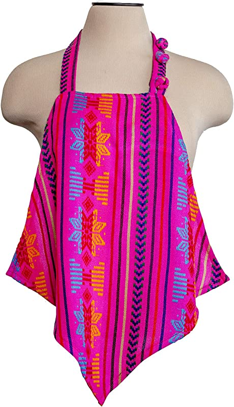 Food Firewall Adult Dining Bib Mini Apron Top Clothing Protectors Pink La Chula