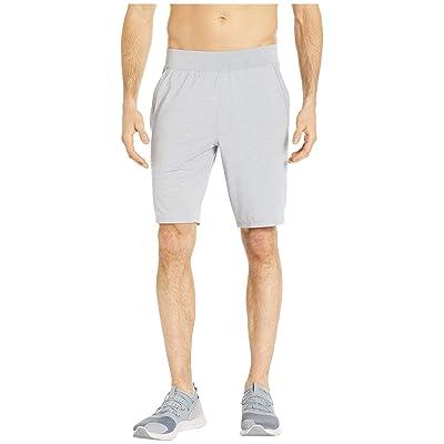 Under Armour Recovery Sleepwear Shorts (Mod Gray Fade Heather/Metallic Silver) Men