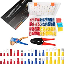 Kit de terminales tipo bala para terminales de conexión de cables, terminales de 0,5 – 6 mm² M4M5M6 eléctricos, impermeabl...
