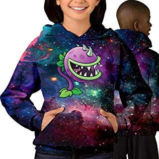 Plants vs_ Zombies Fashion Cotton Teen Starry Sky with Pocket Sweater