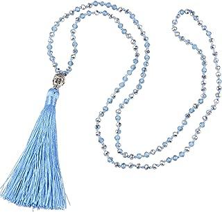 Best light blue necklace Reviews