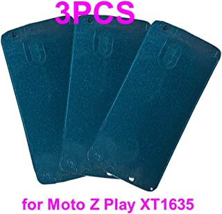 Pre-Cut Front Frame Faceplate Digitizer Glass Adhesive Glue Tape for Motorola Moto Z Play XT1635