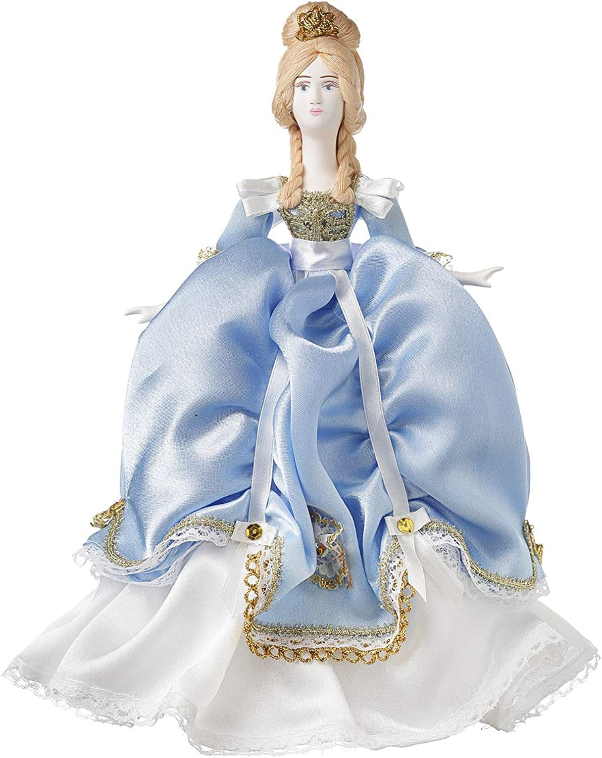 Danilasouvenirs Russian handmade Porcelain Doll in the dress of noblewoman 28 cm  2518