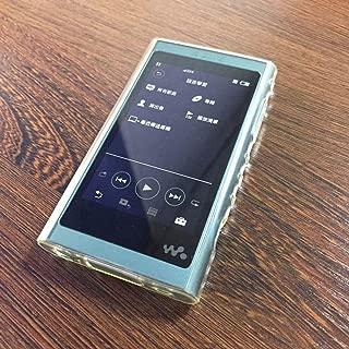 AthnaL Sony Walkman NW-A50シリーズ ケース ソフト TPU カバー ガラス液晶保護フィルム付き NW-A55 / NW-A55HN /NW-A56HN / NW-A57HN 耐指紋 全面保護 ソフト(透明)