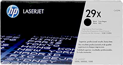 HP C4129X 29X LaserJet 5000 5100 Toner Cartridge (Black) in Retail Packaging