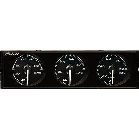 日本精機 Defi (デフィ) メーター【DIN-Gauge】白指針 / 黒文字板 / 白照明 DF14401