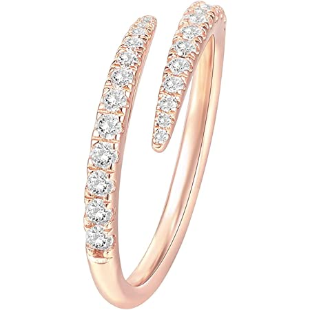 7 Barogirl Twist Ring Engagement Ring for Women Womens Rings for Lovers YR905