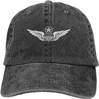 Army Master Aviator Wings Dad Hat Denim Baseball Cap Adjustable Polo Trucker Unisex Style Headwear