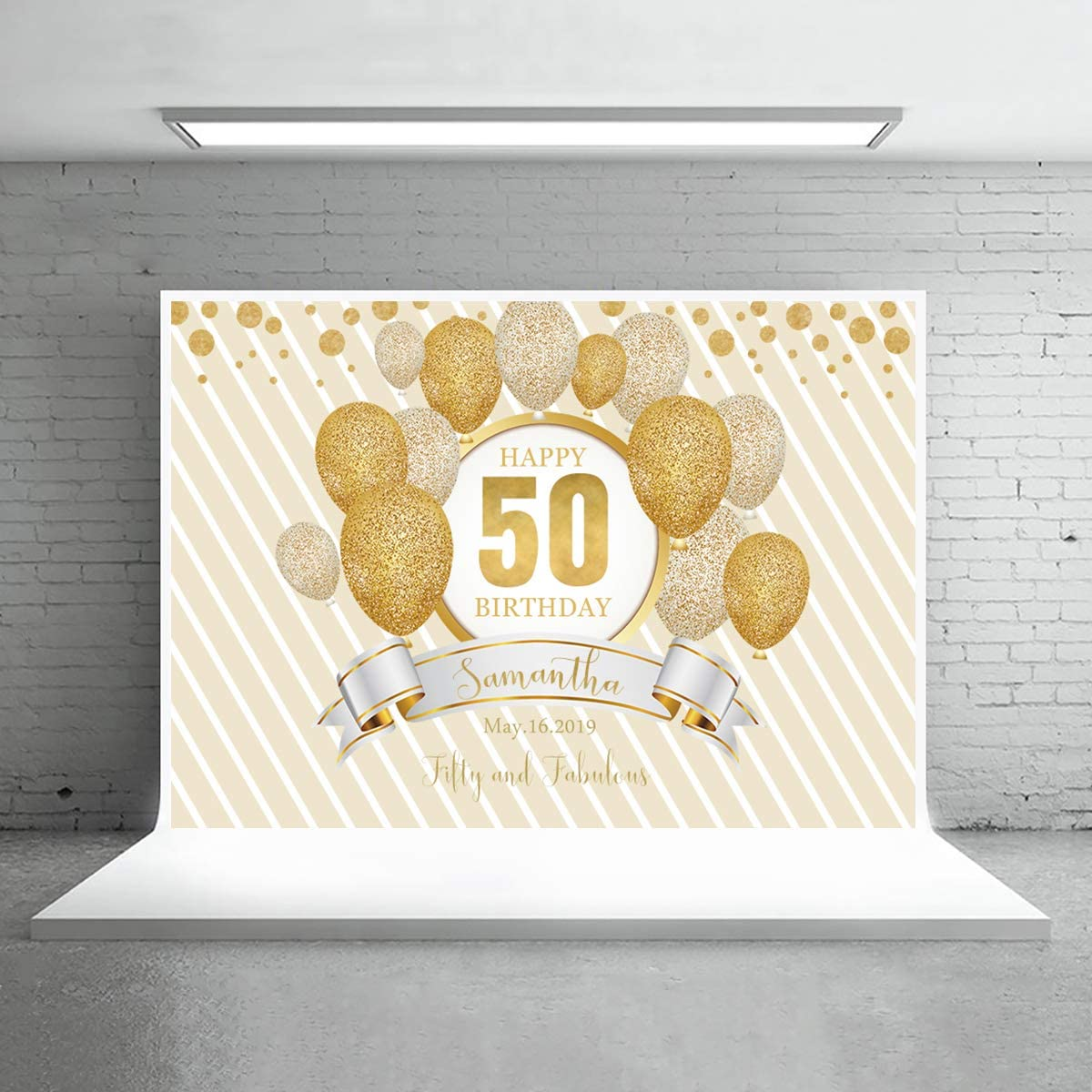 7x5ft,sxy1364 Levoo Memorial Day Ceremony Background Banner Photography Studio Birthday Family Party Holiday Celebration Romantic Wedding Photography Backdrop Home Decoration Customizable Words
