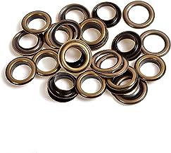 Weddecor 10mm Bronzen ijzeren oogjes Grommets met ringen voor boeken, kunst & ambachten, naaien, zakken, plakboek, doe-he...