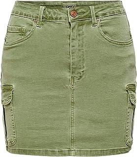 Only Women's ONLMISSOURI LIFE RG CARGO PNT Skirt