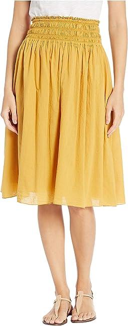 Smocked Waist Ballet Skirt