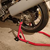 Motorcycle Stand As Mounting Aid For Rear Wheel Load Capacity 450 Kg Auto