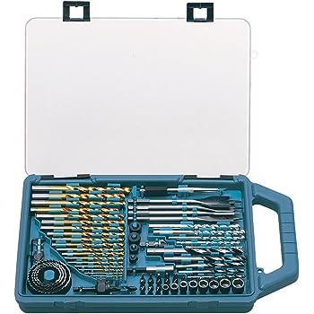 Makita P-44024 75 Piece Drill Bit and Saw Set P-44024 - Juego de ...