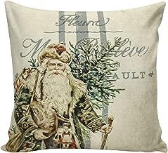 Athena Bacon 7457cm Pillowcase Cover Christmas Laundry Ticking Stripe French Country Blue Santa Burlap Cotton Throw Pillowcase Cover