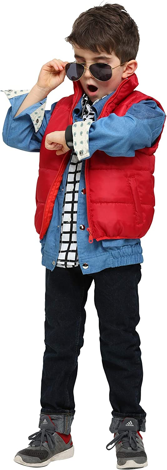 Miami Mall Back to The Future Philadelphia Mall McFly Marty Costume Toddler