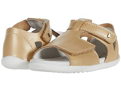 Bobux Kids Step Up Mirror Sandal (Infant/Toddler) (Gold) Girl