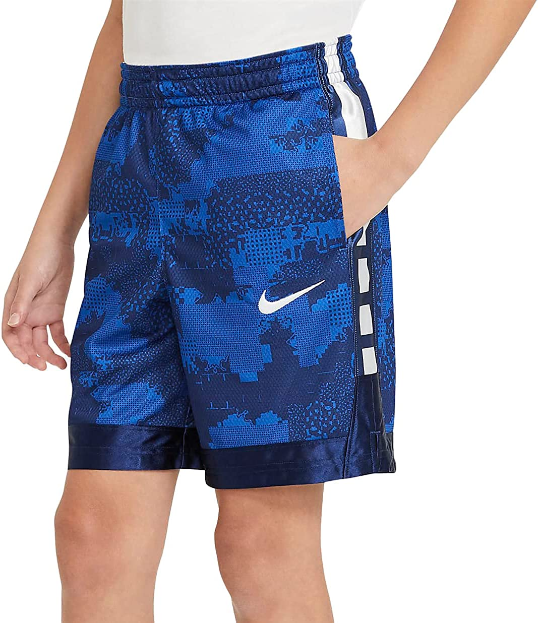 Nike Elite Super Big Kids' (Boys') Basketball Shorts Boys DA0150-480
