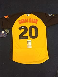Josh Donaldson Autographed Signed Auto 2016 All Star Game Jersey (Size XL) Toronto Blue Jays JSA Authentic