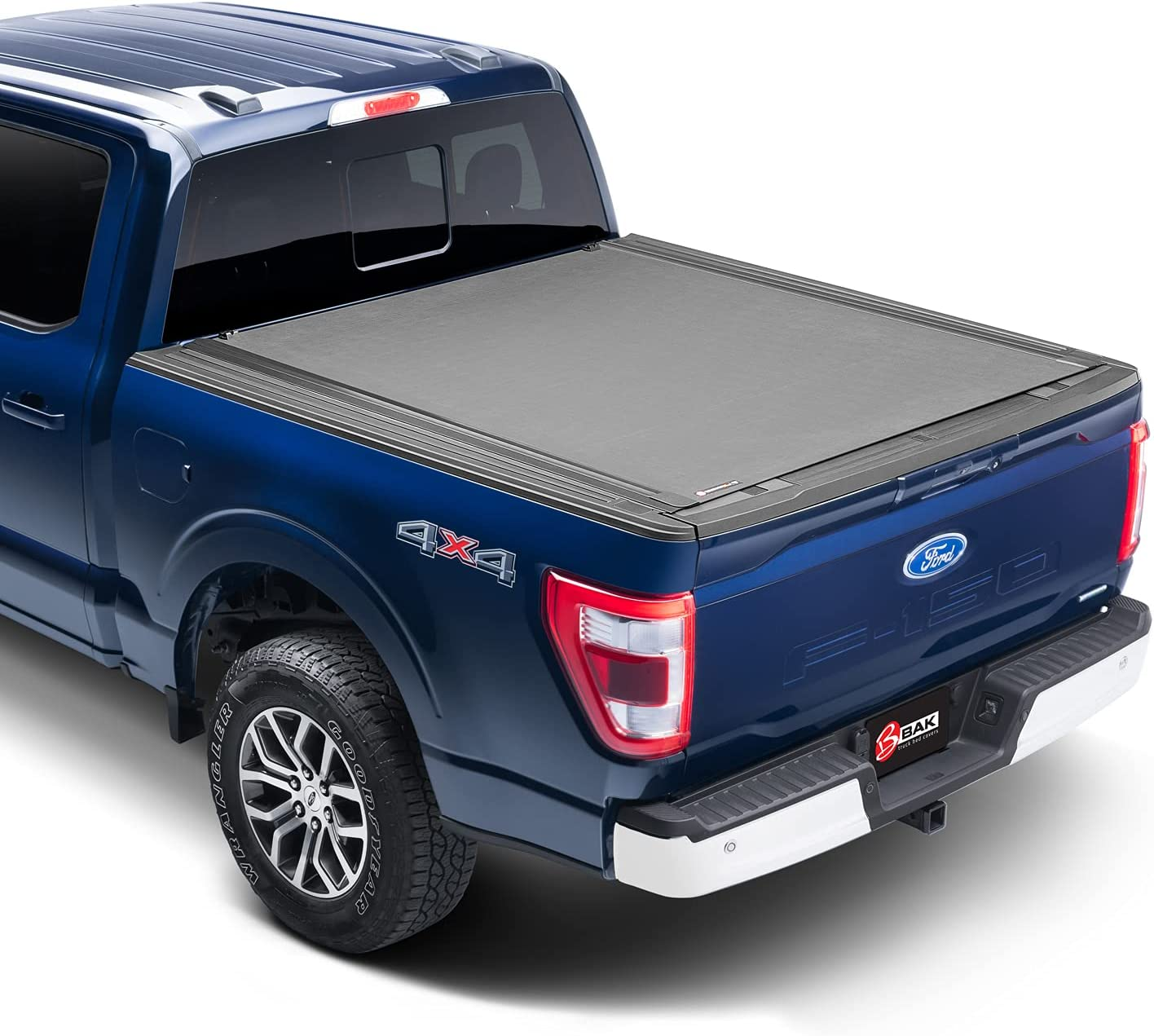 """BAK Revolver X4s Hard Rolling Truck Bed Tonneau Cover   80227RB   Fits 2019-2021 Dodge Ram 1500 with RamBox 5' 7"""" Bed"""