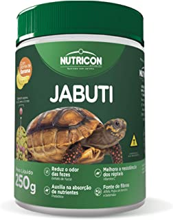 Jabuti 250gr Nutricon Para Tartaruga Terreste Adulto