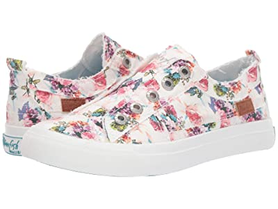Blowfish Play (Off-White Starbella Print Canvas) Women
