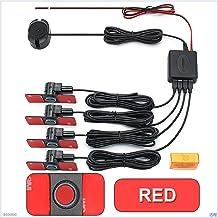 $41 » GUANGGUANG Heartwarming Shop Car Parking Sensor Assistant Parktronics 4 Black/Silver/White 13mm Flat Sensors Reverse Radar...