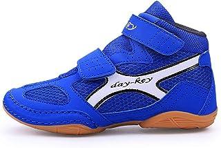 FJJLOVE Unisex Wrestling Shoes, Lightweight Boxing Sneaker No-Slip Breathable Wrestling Boots Sport Trainers Footwear for ...