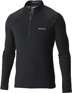 Columbia Midweight Camiseta térmica con media cremallera para hombre