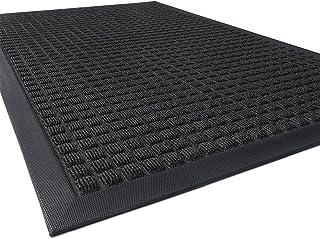 Outdoor Doormats, Non Slip Heavy Duty Rubber Welcome Mats for Front Door, Durable Utility Mud Scrapper Entryway Rug for In...