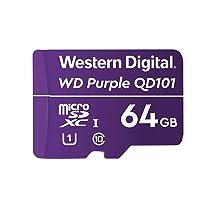 Western Digital WD Purple 64GB Surveillance and Security Camera Memory Card