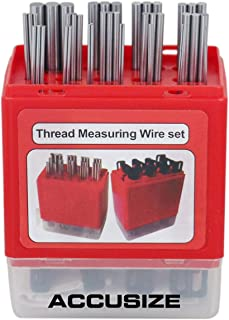 Best thread measuring wire set with holders Reviews