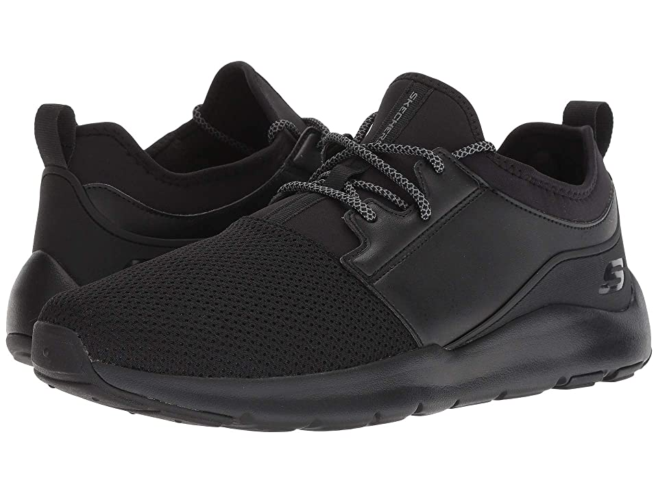 SKECHERS Nichlas Wolfmarsh (Black/Black) Men