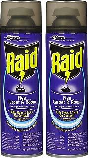 Raid Flea Killer Carpet & Room Spray, 16 OZ (Pack - 2)