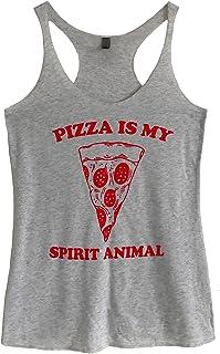 The Bold Banana Women's Pizza is My Spirit Animal Tank Top