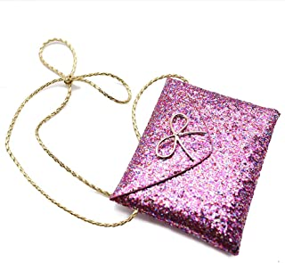 SallyFashion Lovely Little Girl Kids Children Messenger Bag, Bling Bling Shoulder Bag, Handbag, Purple