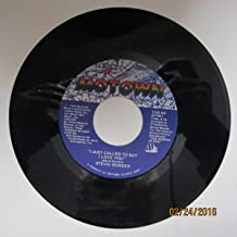 Stevie Wonder 45 RPM I just called to say I love you (Instrumental) / I just called to say I love you