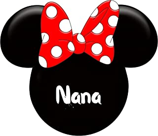 Minnie Mouse Nana Iron On Transfer for T-Shirts & Other Light Color Fabrics #4